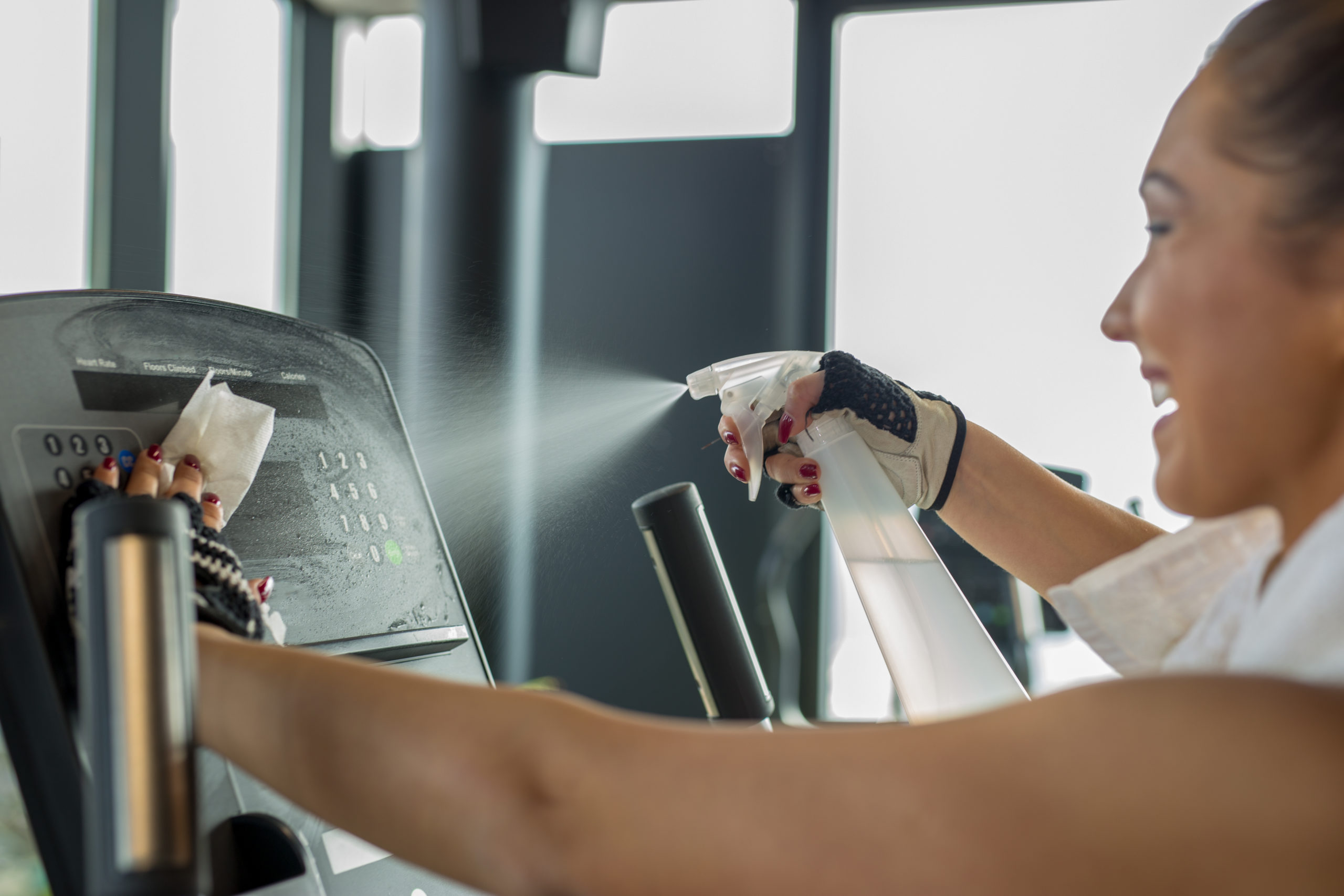 Gym & Fitness Cleaning